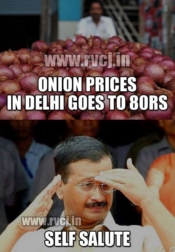 Free Onions in Delhi