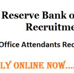 RBI Recruitment 2017