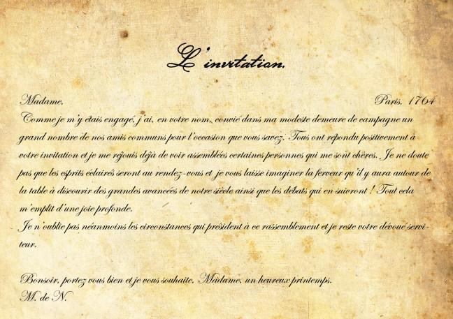 L invitation