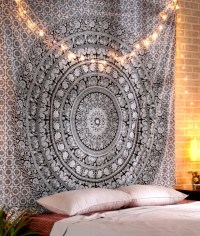 Hippie Wall Tapestry | Cotton Wall Tapestry | Bohemian ...