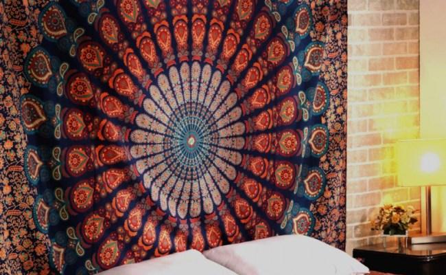 Bohemian Tapestrys Mandala Wall Art Large Mandala Tapestry
