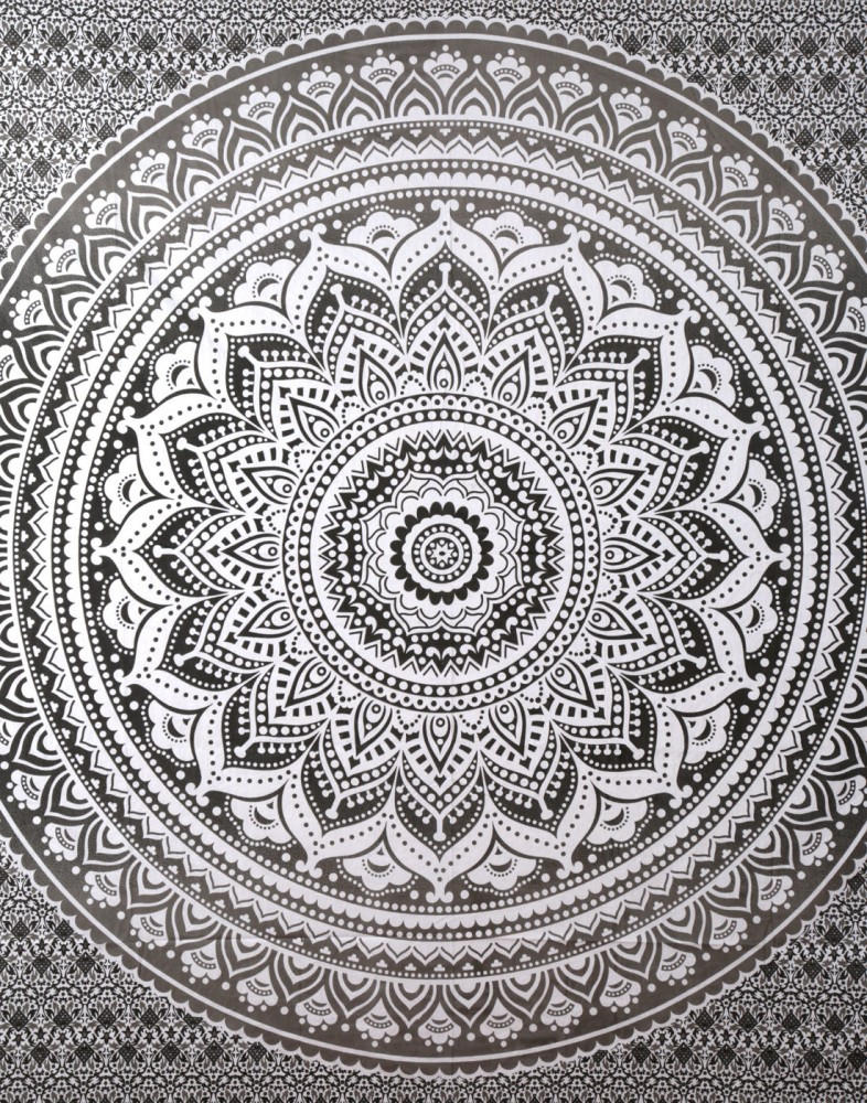 exclusive gray ombre tapestry