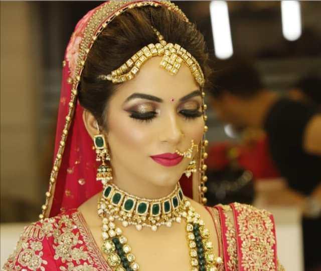 best bridal makeup artist in mizoram, hairstyle & bridal
