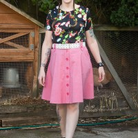 Pattern Testing: Jennifer Lauren Cressida Skirt