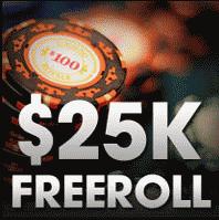 Carbon Poker $25K Bankroll Booster Freeroll
