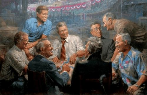 Democrats Poker Game