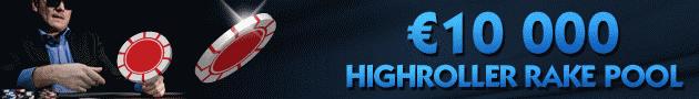 NoiQ Poker 10K Highroller Rake Pool