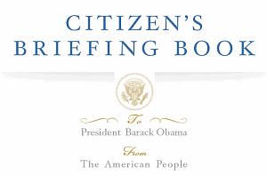 Obama's Citizen's Briefing Book