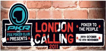 PKR London Calling Event