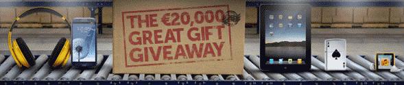 Poker Heaven 20K Great Gift Giveaway