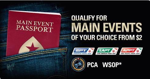 PokerStars Main Event Passport
