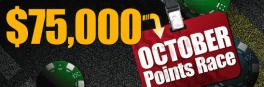 RedKings October $75k Points Race