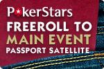 PokerStars Main Event Passport Satellite