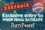 Party Poker & Rakeback.com Exclusive $1K Freeroll