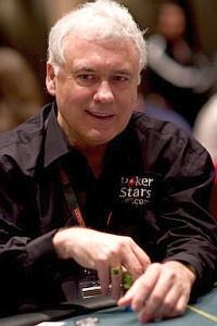 Team PokerStars professional poker player Tom McEvoy