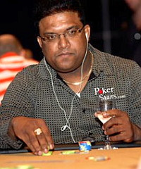 Team PokerStars professional poker player Victor Ramdin