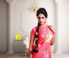 Saree shoot Modelling