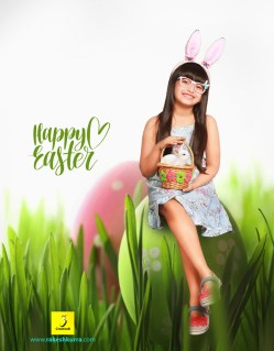easter kids photography