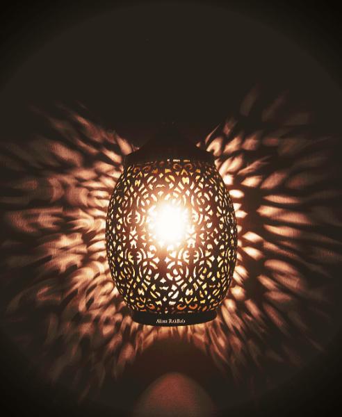 lampe lumière reflet ombre
