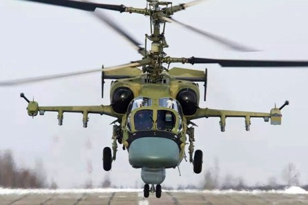 Ka-50-and-Ka-52-coaxial-armoured-attack-helicopters