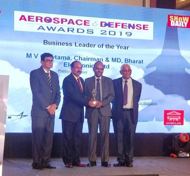 BEL CMD wins Business Leader of the Year Award