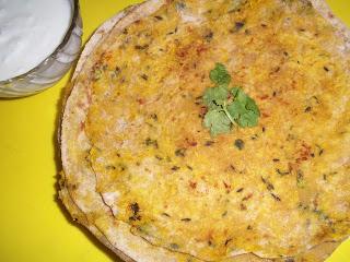 Lajjatdaar Mooli Paratha
