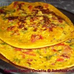 Eggless Tomato Omelette and some Awards