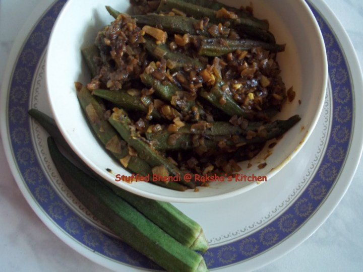 Stuffed Bhendi , Stuffed Okra