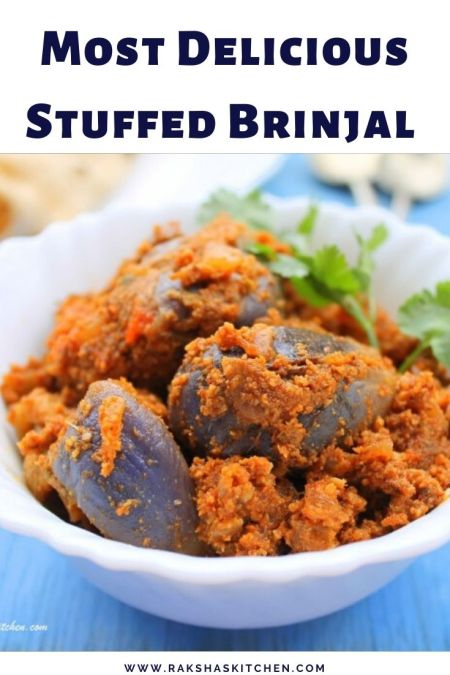 Stuffed Brinjal Recipe Image