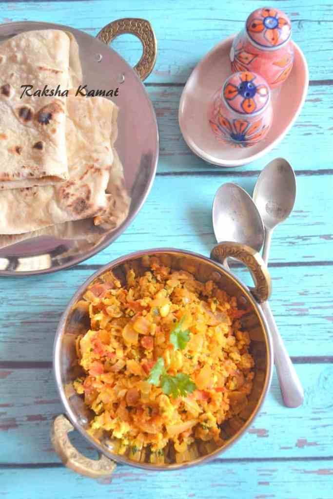 Indian egg bhurji