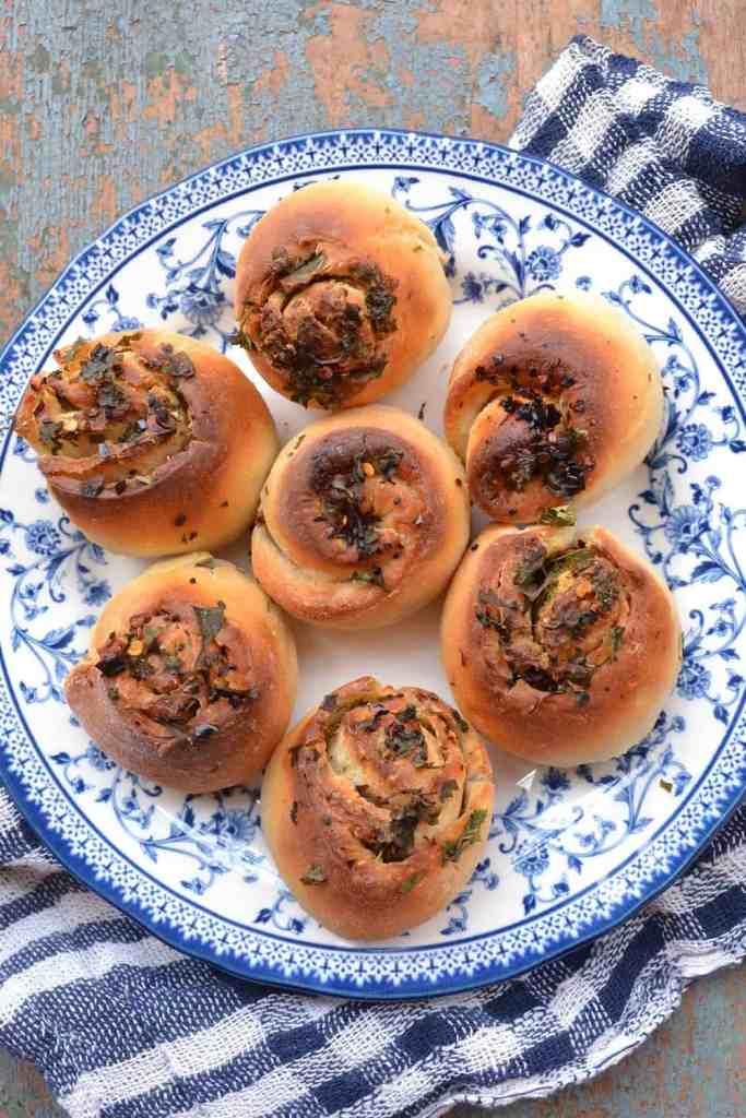 Garlic Bread Rolls