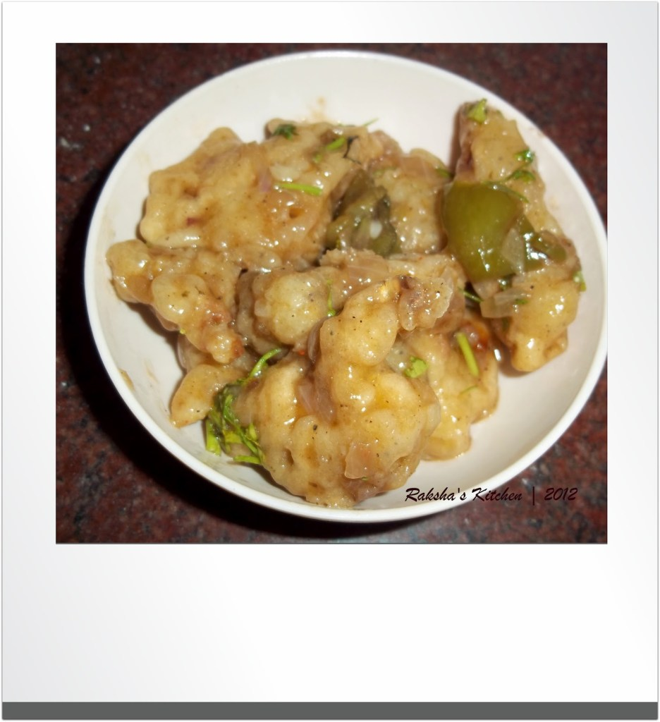 Gobi Manchurian or Chicken Manchurian? April Fool's Challenge