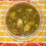 Nutitious 3P curry – Potato, Peas and Palak