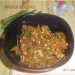 Bhendi Subzi / Ladyfinger Stir Fry