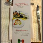 Spaghetti Kitchen Presents Tuscan Food Festival!