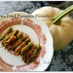 Crispy Rawa Fried Pumpkin Buds