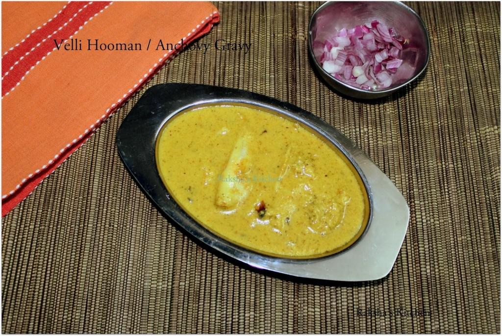 Goan Style Velli Hooman | Anchovy Gravy | Goan Fish Curry