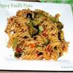 Spicy Fusilli Pasta