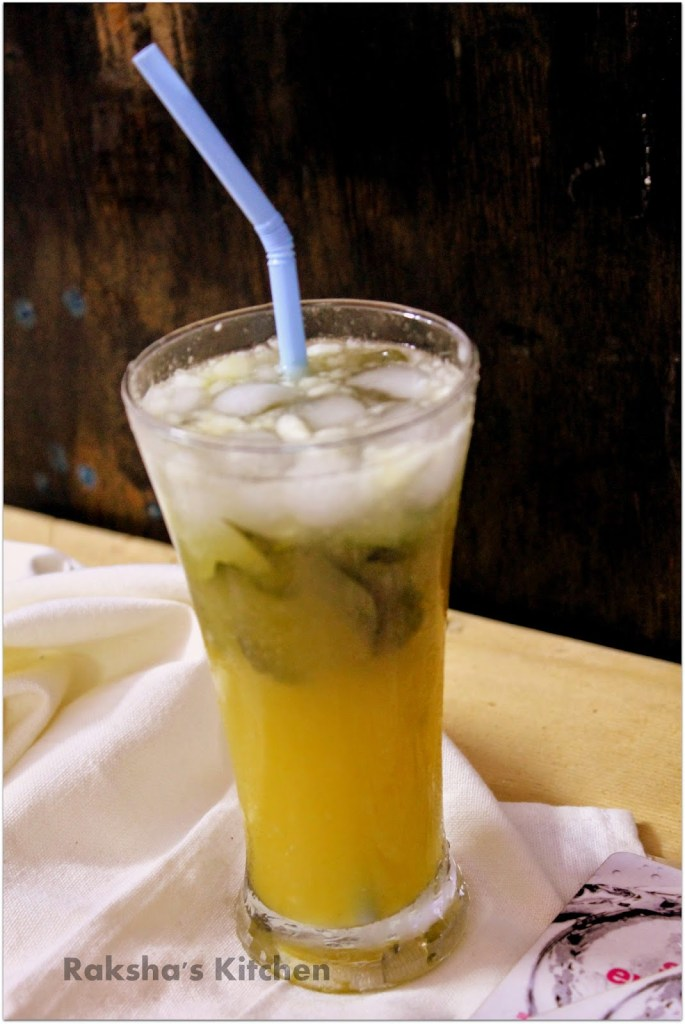 Cucumber Orange Mocktail With Curry Leaves