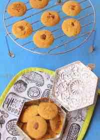 Nankhatai, Indian cookies