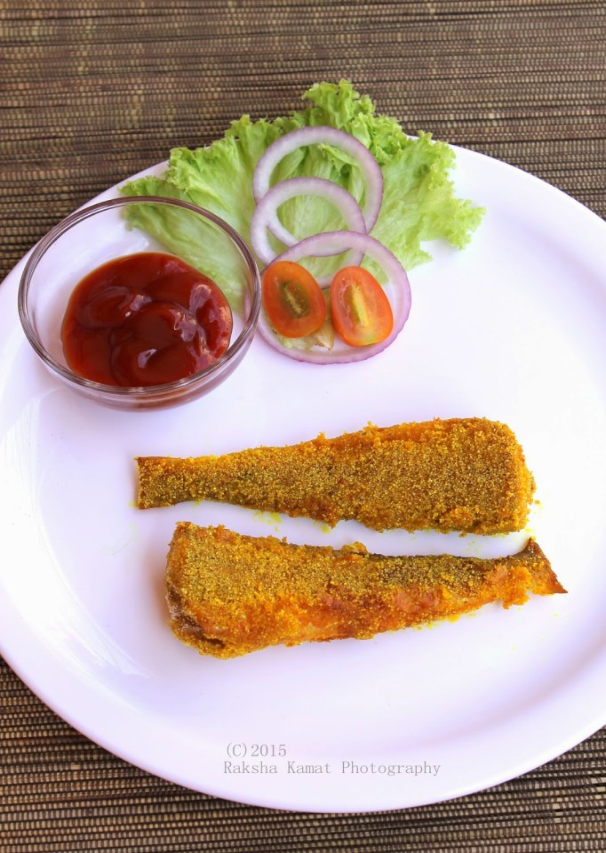 LadyFish Fish Fry | Silver Whitting Fish Fry | Muddoshi Rava Fry | Fish Fry | Goan Recipes