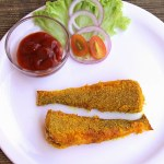Lady fish rava fry