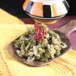 Aavryachi Bhaji , Broad Beans Stir Fry , Avarakkai Subzi