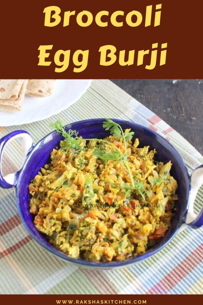 Broccoli Egg Burji