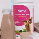 Kiwi Banana Milkshake And A Review Of OZIVA Nutritional Meal Shake