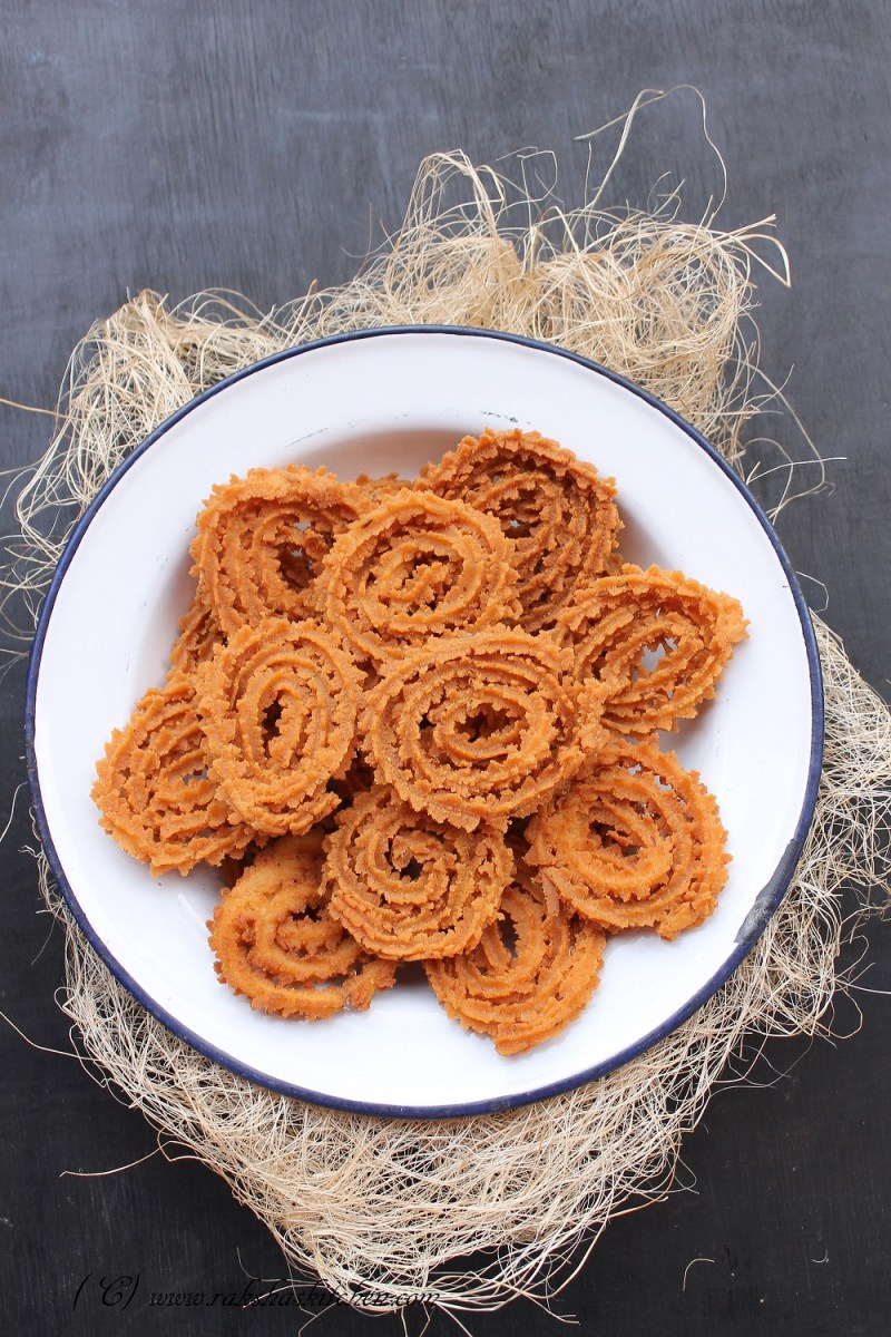 Rice Flour Chakri Or Muruku Recipe
