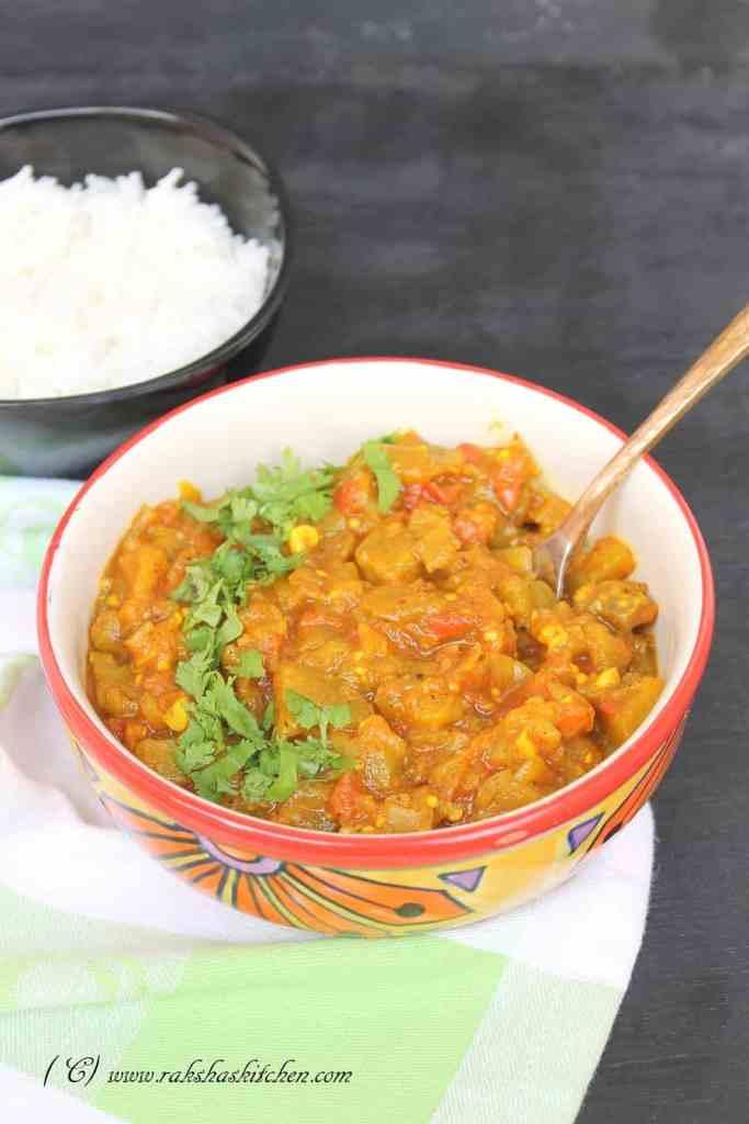 Persian eggplant stew