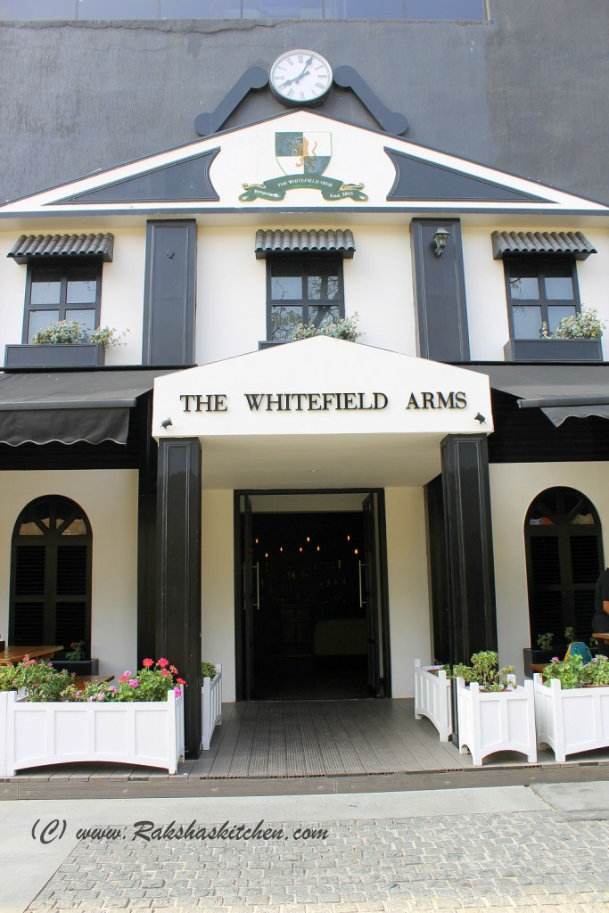 The Whitefield Arms, VR Bengaluru, Bangalore - A Restaurant Review