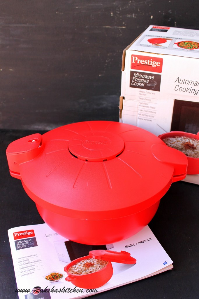 Pudina Pulao Recipe And TTK Prestige Microwave Pressure Cooker – A Product Review