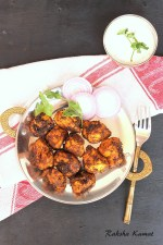 Pan fried chicken tikka